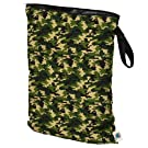 Planet Wise Wet Diaper Bag, Camo, Large