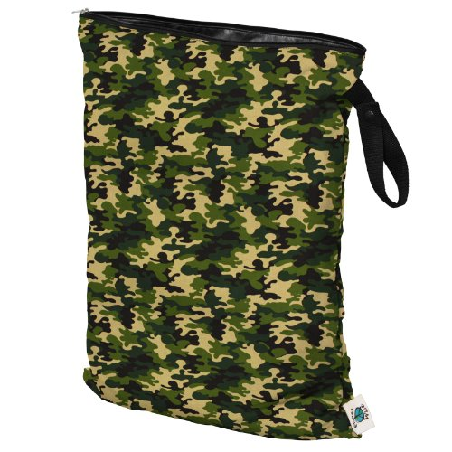 Planet Wise Wet Diaper Bag, Camo, (Diaper Bag Green Camouflage)