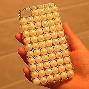 iPhone 5S Case, WKell luxury with Pearl Hard Back Cover for iPhone 5 / iPhone 5S