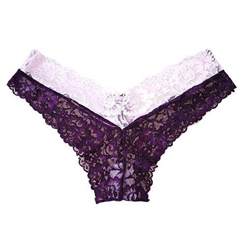 Skyrocket Bragas Pantalones de mujer sin costuras señoras Ropa interior con multicolor multicolor-2
