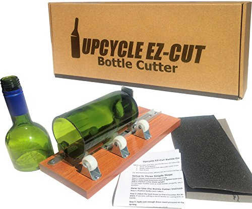 Bottle Cutter Kit to Make Glasses from Wine/Beer Bottles  Edge Sanding Paper