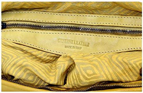 BZNA Bag Siena Rosa Italy Designer Borsa a mano Borsa a tracolla Borsa in pelle Calf Shopper Nuovo