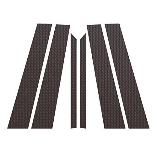 Ferreus Industries Carbon Fiber Pillar Post Trim Cover fits: 2006-2011 Mercedes ML All Models PIL-113-CF
