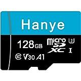 microSDXCカード 128GB Hanye UHS-I 超高速 U3 V30 4K Ultra HD アプリ最適化A1対応 Nintendo Switch/OSMO POCKET/insta360 動作確認済