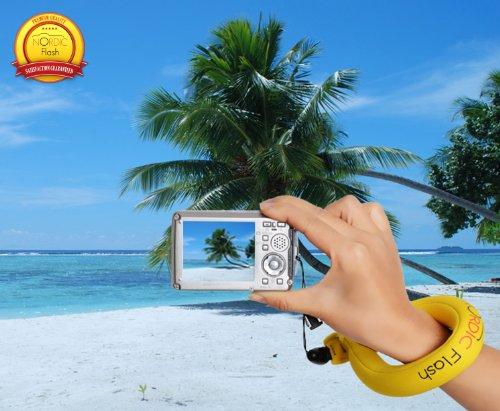 Nordic Flash Waterproof Camera Float - Pack of 2 - Bright Yellow