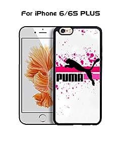Puma IPhone 6 Plus Funda Case, Brand Logo Protecive Snap On Anti Slip Vintage Personalized Ultra Slim Fit for IPhone 6 6s Plus (5.5 inch)