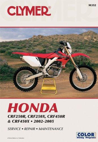 Honda  CRF250R (2004), CRF250X (2004) AND CRF450R 2002-2004 (CLYMER MOTORCYCLE REPAIR) (Crf 450 Motor)