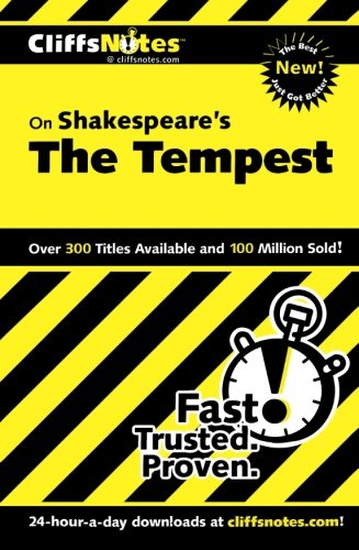 Shakespeare's The Tempest (Cliffs Notes)