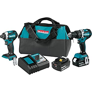 Makita XT275T 18V LXT Lithium-Ion Brushless Cordless 2-Pc. Combo Kit