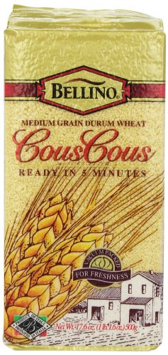 Bellino Cous Cous, 17.6 Ounce Packages (Pack of 12) by Bellino