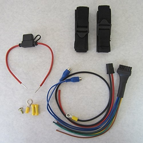 BAZOOKA WIRING KIT & ST10 MOUNTING STRAPS FOR BTA-250D 10'' AMPLIFIED TUBES