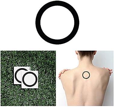 Tatuaje Temporal Tattify - Círculo de línea gruesa - Carrusel (juego ...