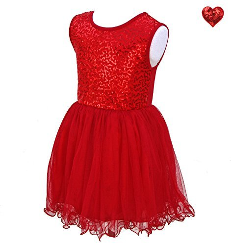 Opal & Ivy 3T Toddler Valentines Day Dress - Red Princess Ballerina Dress & Hairbow Set