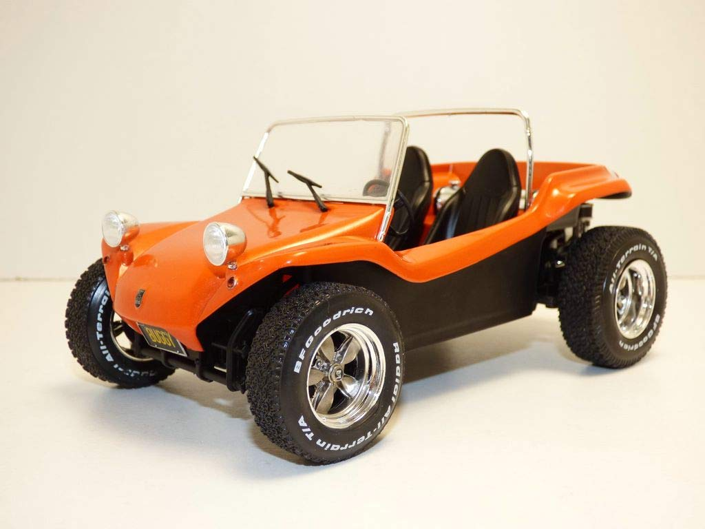 Coche en Miniatura de colecci/ón Solido Meyers Manx Buggy-Soft Roof Orange-1//18-S1802702 Color Naranja