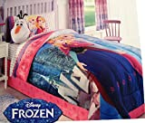 Best Comforter Set With Plushes - Disney Frozen Twin Comforter and Sheet Set Bedding Review
