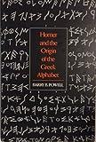 Homer and the Origin of the Greek Alphabet 9780521371575