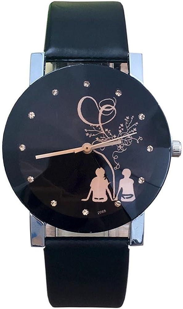Reloj de cuarzo con correa de vidrio de estilo elegante para ...