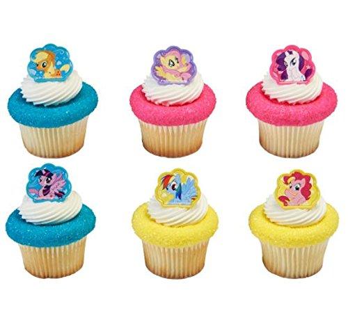 My Little Pony Cutie Beauty Cupcake Rings - 12 pcs ()
