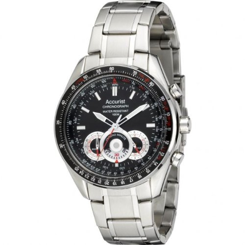 mens accurist chronograph watch mb898b amazon co uk watches