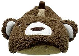 carter\'s Yoshi Slipper (Toddler/Little Kid), Brown, Large (9/10 L US Toddler)