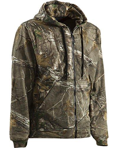Berne Men's All Season Thermal Lined Sweatshirt, Realtree Xtra, X-Large/Regular