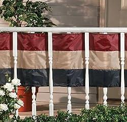 Americana Old Fashioned USA Flag Swag Bunting 20 Feet Long