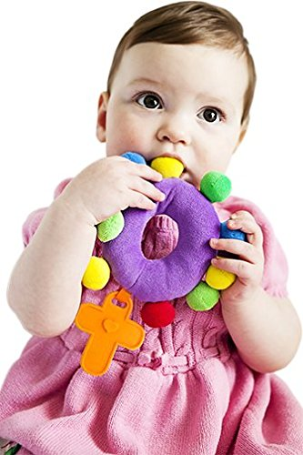 "BABY ROSARY ""My First Rosary"", PLUSH ADVENT/LENTEN ..."