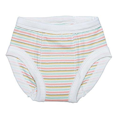 Organic Training Pants - 12-24 Months - Butterfly Stripe