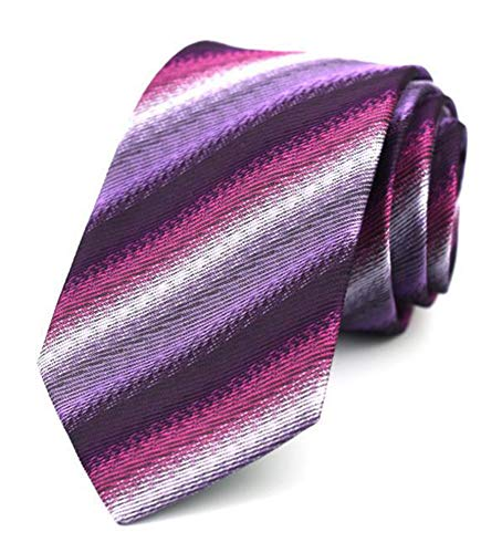 (Mens Womens Fantastic Summer Purple Fun Ties Designer Neckties for Wedding Party)
