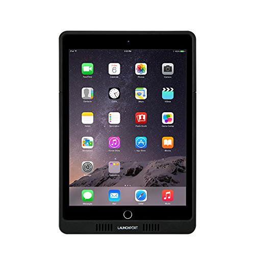 iPort LaunchPort AP.5 Sleeve for iPad Air 1, 2 iPad Pro 9.7'', and 5th Gen  - Black by iPort