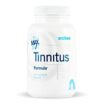 Arches Tinnitus Starter Kit – Now with Ginkgo Max 26 7 – Natural Tinnitus Treatment for Relief from Ringing Ears – 4 Bottles – 100 Day Supply