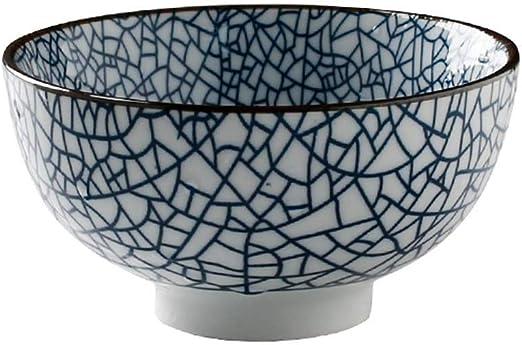 LJFYMX Tazón de Cereales Ensaladera de cerámica Personalidad Ramen Cuenco Sopa Profunda Juego de Mesa (Size : 11 * 6cm): Amazon.es: Hogar