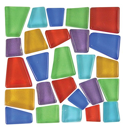Mosaic Mercantile Crafter's Cut Assorted Pre-cut Tile, 3-Pound