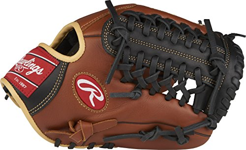 (Rawlings Sandlot Series Leather Modified Trap-Eze Web Baseball Glove, 11-3/4