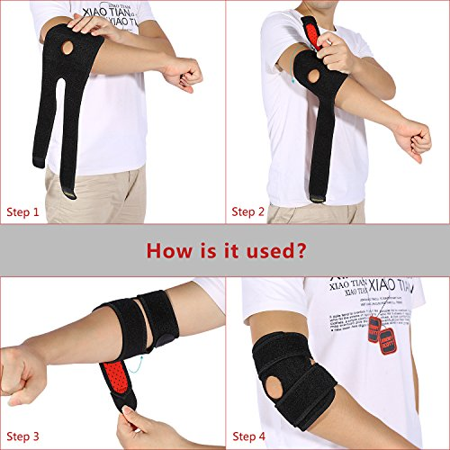 tennis elbow wrap how to wear