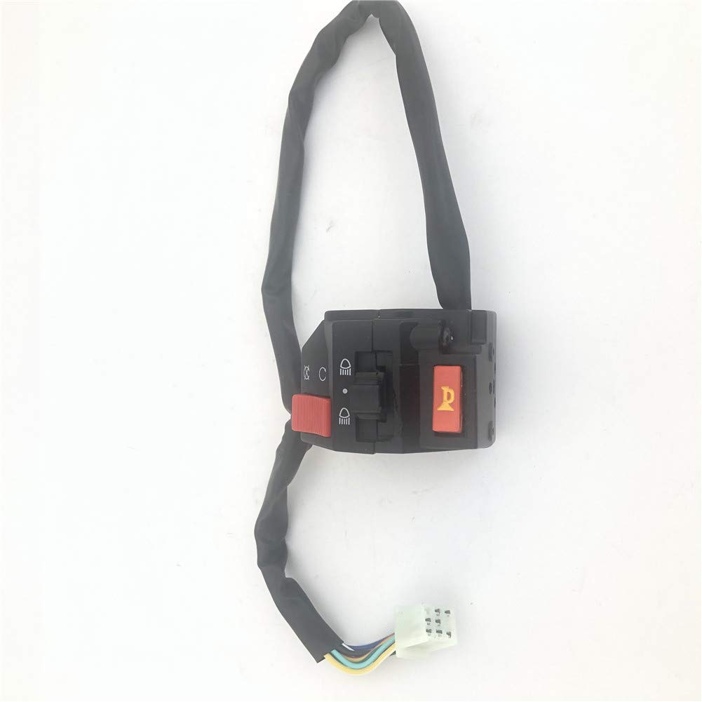 AH 7//8(22mm)Handlebar Starter Switch 7 Pin for Kazuma Falcon Dingo 100cc 110cc 150cc 250c ATV