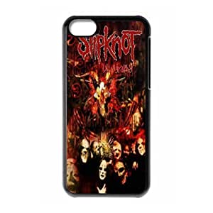 Holiday Gifts M-02 Music Band Slipknot Black Print With Hard Shell Case for iPhone 5C