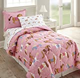 Olive Kids Horses 7 Pieces, OK 7 Pc Bed in a Bag-Full