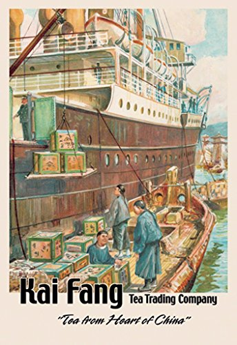ArtParisienne Tea from The Heart of China Kai Fang Tea Trading Company 24x36-inch Paper Giclée Print