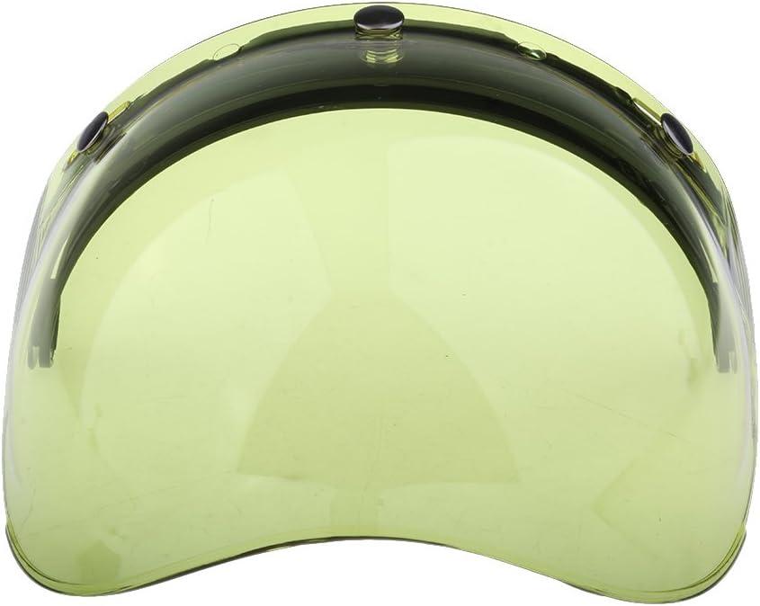 Colore # 2 3 Snap Flip Up Visor Face Shield Lens Per Casco Da Motociclista Open Face