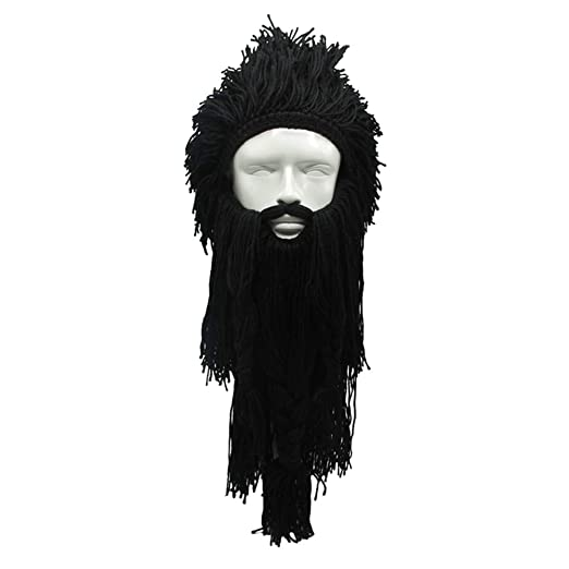 0588da3c3 Amazon.com: MerryJuly Men's Head Barbarian Vagabond Beanie Original ...