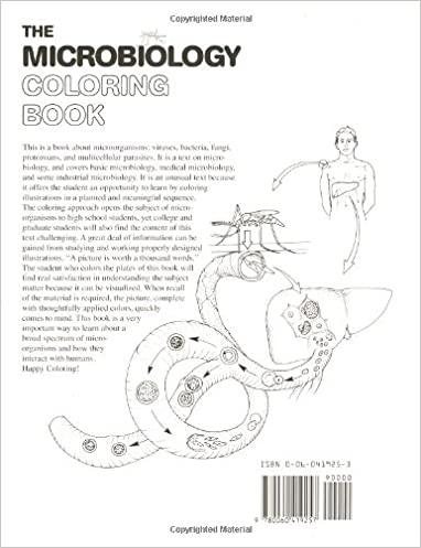 The Microbiology Coloring Book: I. Edward Alcamo, Lawrence M ...