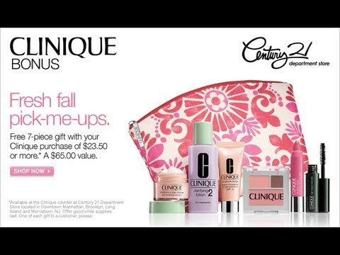 Clinique Pink and Red Makeup ()