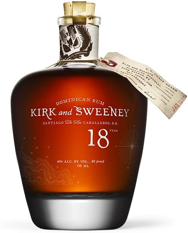 Kirk and Sweeney Kirk and Sweeney 18 Years Old Dominican Rum 40% Vol. 0,7l - 700 ml