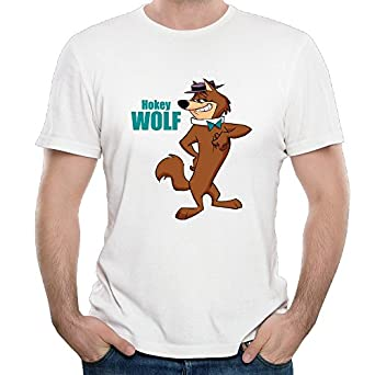 Hong kong phooey anime hanna hokey wolf men 39 s for Amazon review wolf shirt