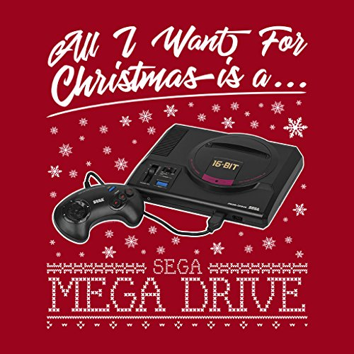 Drive Drive All Coto7 Is Want Cherry Sweatshirt Mega A For Women's Christmas Red I wwrqd8