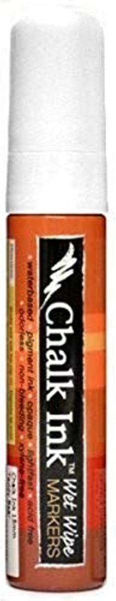 Chalk White Chalk Ink Bold Wet Wipe Marker 15 mm