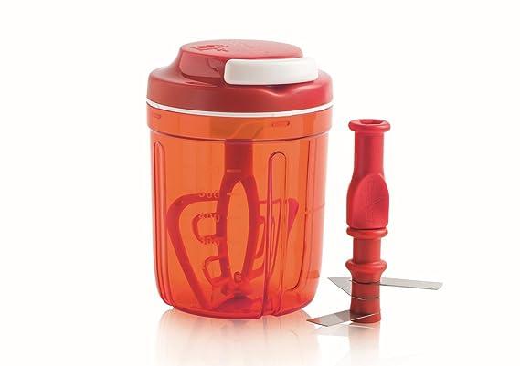 Amazon.com: Tupperware Turbo Chef Herb Smart Chopper 730ml / 24.6 OZ (Turkiz): Kitchen & Dining