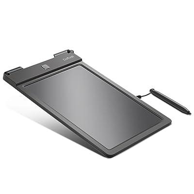 'Tableta gráfica para Escritura - Daffodil WT100 - Pizarra Digital de Dibujo con Pantalla LCD 9 y lápiz Capacitivo para Escritura a Doble Extremos - Apto para Escuela, Oficina, Cuaderno [Negro]: Electrónica