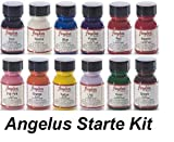 Angelus Leather Paint Set of 12 1 Oz: more info